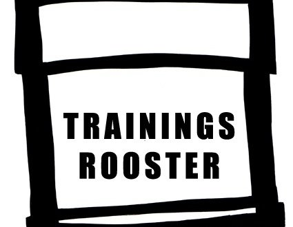 Trainingsrooster 2018-2019