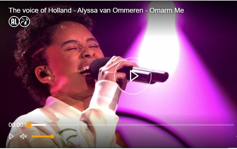 "Hoe ""onze"" Alyssa schitterde in The Voice of Holland"