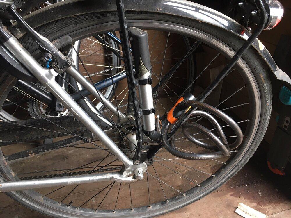 Zet je fiets op slot